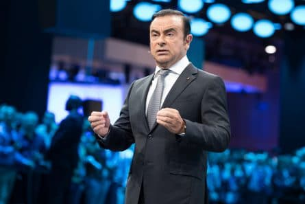 Carlos Ghosn - Nissan -Renault