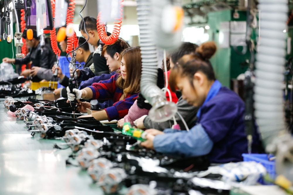 Chine - industrie- PMI - guerre commerciale