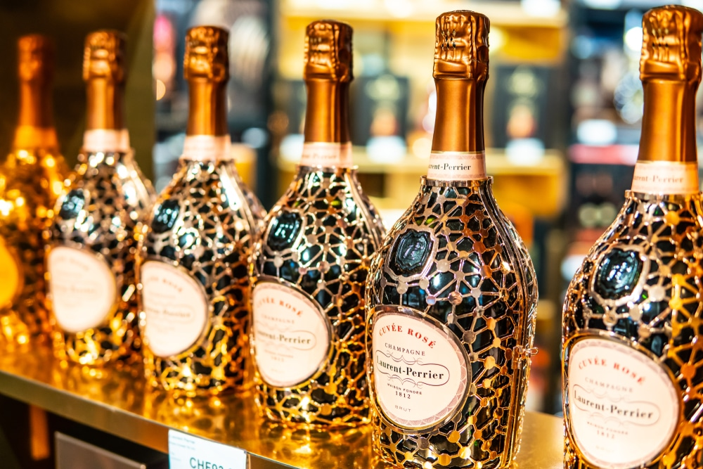 action Laurent Perrier - champagne - luxe